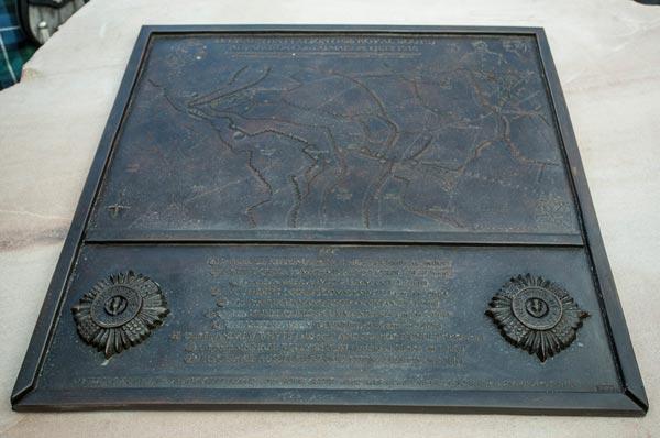 2012 plaque