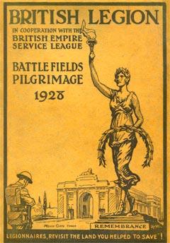Legion pilgrimage 1928
