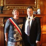 Maire and Edinburgh's Lord Provost