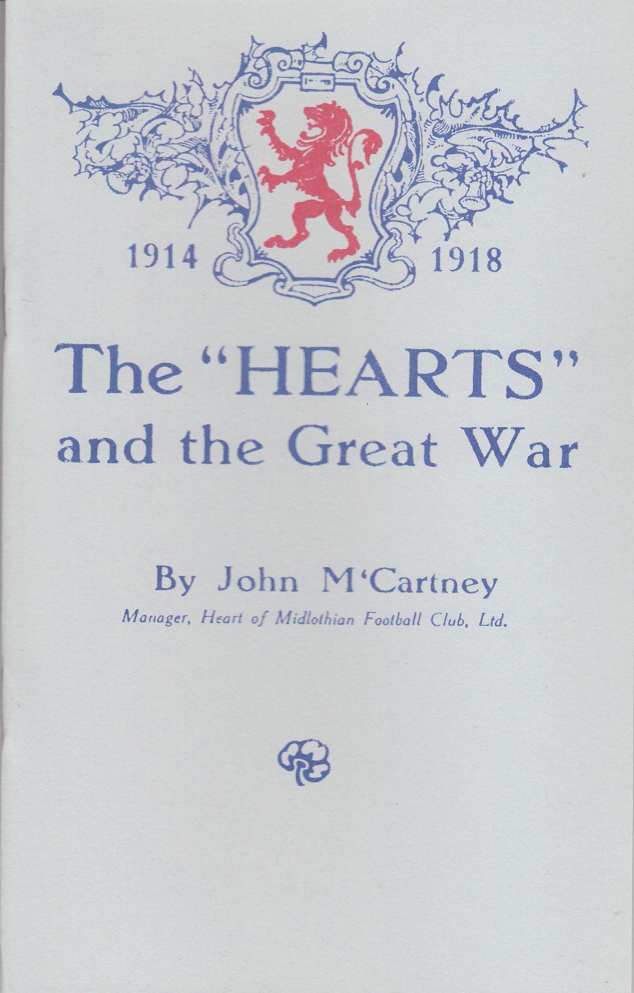 HEARTS and the Great War